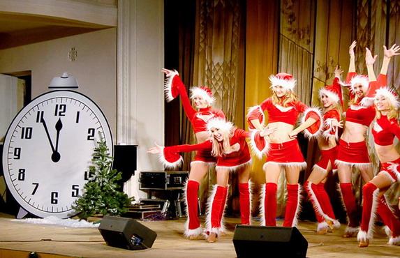 Сценарий на новый год танцевальный
